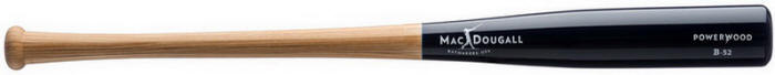Powerwood Bats 5 Month Warranty Crystal Clear, Midnight Blue, & Black Diamond